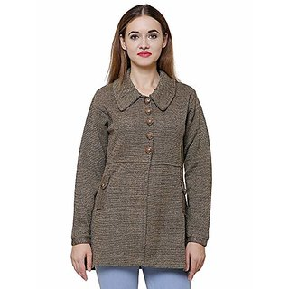 Matelco womens Woollen Cardigan with pockets