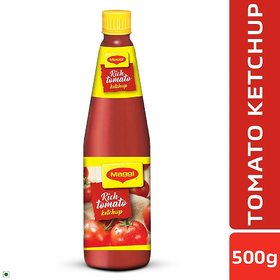 Maggi Rich Tomato Sauce Glass Bottle(500g)