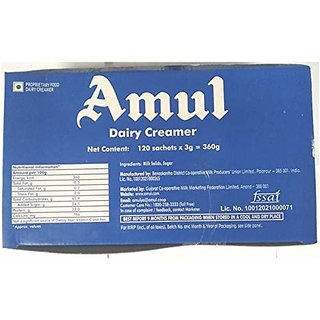 Amul Creamer 3G Pack Of  120