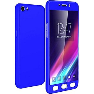 GADGETWORLD Luxury 360 iPaky Case Cover for Vivo Y53  -Blue