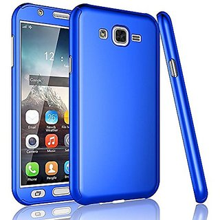 GADGETWORLD Luxury 360 iPaky Case Cover for Samsung Galaxy Grand 2 (7106) -Blue