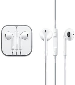 Stereo Bass Earphone with 3.5 mm Earphones Compatible with  iPhone5/5s/6/6S/7/Plus/8/8 Plus/iPhone X