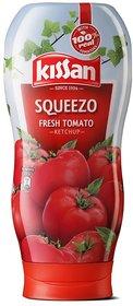 Kissan Squeezo Fresh Tomato Ketchup (450 G)