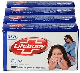 Lifebuoy Care Soap (125 Gm 3 +1 )