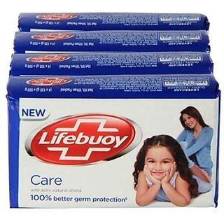 Lifebuoy Care Soap (125 Gm 3 +1 )