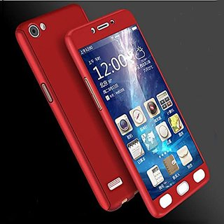 GADGETWORLD Luxury 360 iPaky Case Cover for  Oppo Neo 7 -Red