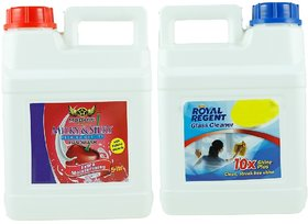BNG MILKYSILKY HAND WASH 5 LTR WITH FREE GLASS CLEANER 5 LTR