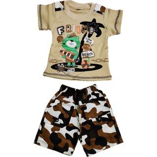 Boy tshirt and Nikker Set