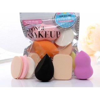6-in-1 Makeup Sponge (Multicolour)