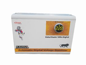 Dazler 500a Digital 500 VA1.5 Amp 100-280 Volt 5 Booster Automatic Digital Voltage Stabilizer