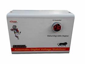 Rahul Digi 600c Digital 600 VA/2 Amp 140-280 Volt 3 Booster Automatic Digital Copper Voltage Stabilizer