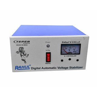 Rahul V 444 a1 Kva/4 Amp 100 280 Volt 5 Booster Automatic Digital Voltage Stabilizer