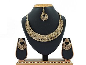 Vatsalya Creation Alloy Jewel Set (Gold)