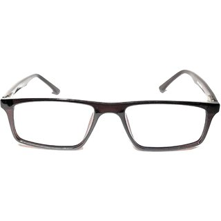 Amar Lifestyle Spectacle Frame brown rectangular plastic  Unisex  _ar22ai4na3613