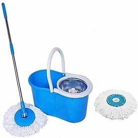 Magic Spin Mop 360 Degrees Rotating Floor Cleaner(Randam colour)