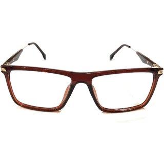 Amar Lifestyle Reading glasses +1.50 Bifocal brown rectangular plastic  Unisex  _ar24ai4na3895