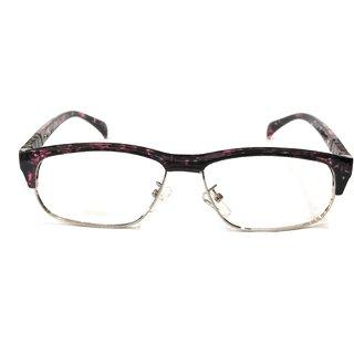 Amar Lifestyle Reading glasses +2.25 Bifocal purple rectangular plastic metal  Unisex  _ar25ai4na4083