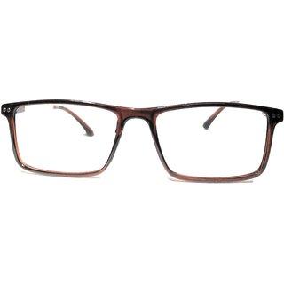 Amar Lifestyle Reading glasses +1.50 Bifocal brown rectangular plastic  Unisex  _ar24ai1na3754