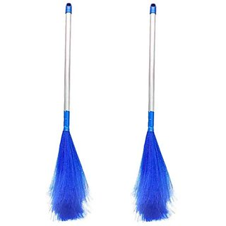 Plastic Broom jhadu ( PACK OF 2 PCS )