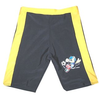 Sports Multi Polyester Lycra Brief Single for Kids  - Large