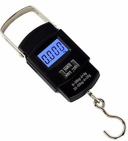 NBS Pocket Weighing Scale upto 50KG (Black Colour) (Cell Operated)