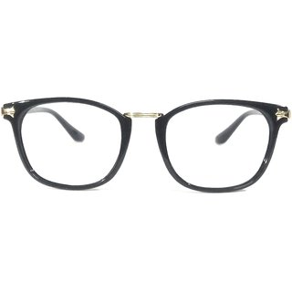 Amar Lifestyle Reading Glasses +1.50 Single Vision black round plastic  Unisex  _na5ko1da4694