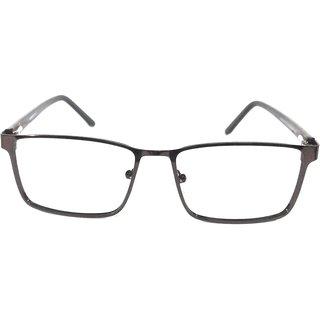 Amar Lifestyle Reading Glasses +2.75 Single Vision coffee brown elegant metal full rim  Unisex  _na5ko3da4788