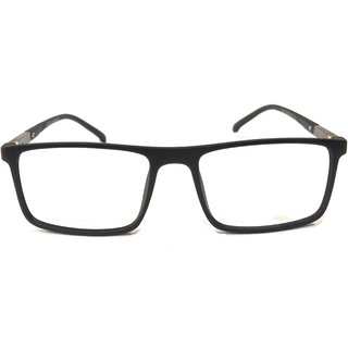 Amar Lifestyle Reading Glasses +2.00 Single Vision black rectangular plastic full rim  Unisex  _na7ko3da5070