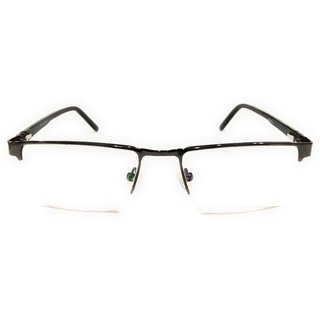 Amar Lifestyle Reading glasses +2.75 Bifocal black rectangular plastic half rim  Unisex  _na7ko5da5164