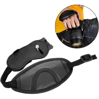 House of Quirk Adjustable Camera Wrist Hand Grip Strap for Cameras