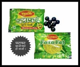 Surbhi Yummy Delicious Fatafat Goli Jambo Pack hygienic Pouch 210 pouch3 gram