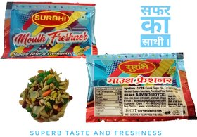 Surbhi Mukhwas mouth freshener Jambo Pack with mint very refreshing 210 pouch3 gram