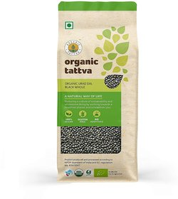 Organic Tattva Urad Black Whole (500gm)