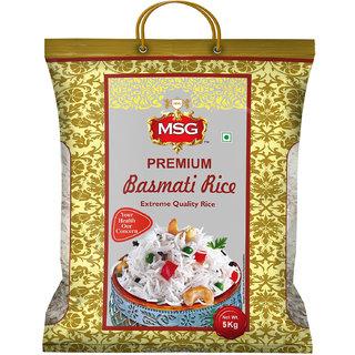 MSG Premium Basmati Rice (Long Grain) 5kg