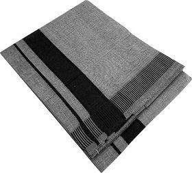 Lungi 100 Cotton Free Size-(Grey Colour  2 meter)