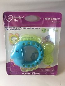 Baby ocean Animal Shaped teether  specially designed for little hands (colors and shape as per availability)
