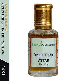 Saanvi Perfumers Dehnul Oudh Attar 10ML For Unisex