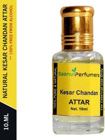 Saanvi Perfumers Kesar Chandan Attar 10ML For Unisex