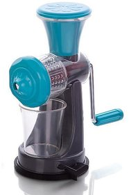 Nano Fruits and Vegetable Juicer with Steel Handle(Blue)