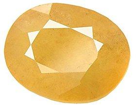 Riddhi Enterprises 5 ratti original pukhraj yellow sapphire pitambari neelam certified gemstone