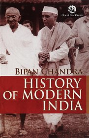 History of Modern India Ebook By Bipan Chandra