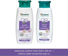 Himalaya  Baby Bath 400 ML Gentle Baby Shampoo 400ML India Combo