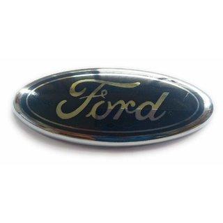 CAR Badge Emblem Monogram/Logo/Decals/Wraps/Sticker / 3D for Ford Fiesta SXI TDCI Model Rear Side Logo