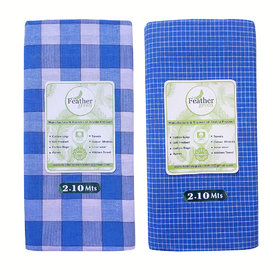 Cotton Branded Lungi for Men(Pack of 2 pcs)