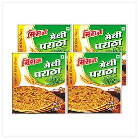 Miraj Methi Paratha Combo Pack of 4