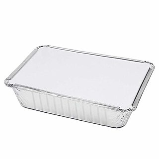 Aluminium Foil Containers 750 Ml With Lid (Pack Of 25)