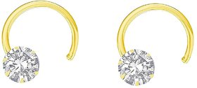 Nose Ring Gold Plated (Bali) Earring for Girl  Women, Set of-2