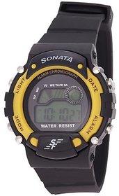 Sonata Quartz Grey Round Men Watch 7982PP01