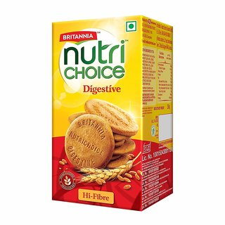 Britannia Nutrichoice Digestives High Fibre, 250G