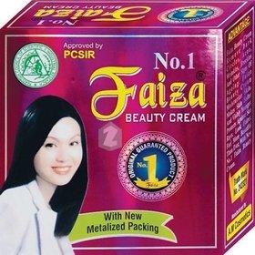 Faiza Beauty Whitening Fairness Cream #Tm 223190 100g Original (No of units 1)